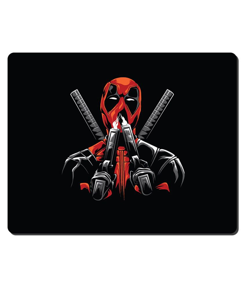 Ryca Spider-Man 3D Design  High Resolution Mouse pad HD Print AntiSkid base High Speed Quality Mousepad