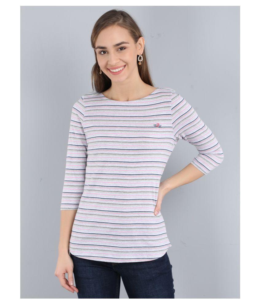 PIPER Cotton Multi Color T-Shirts