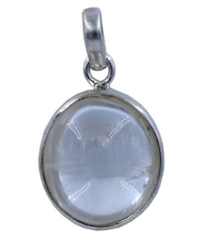 12.25 Carat Original Created Certified MOONSTONE silver Pendant for Men & WomenBy Kundli Gems