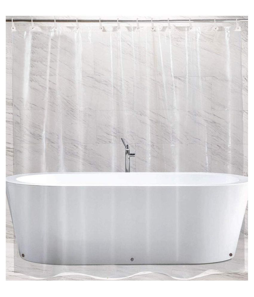 Fabfurn Single Shower Curtain White Others