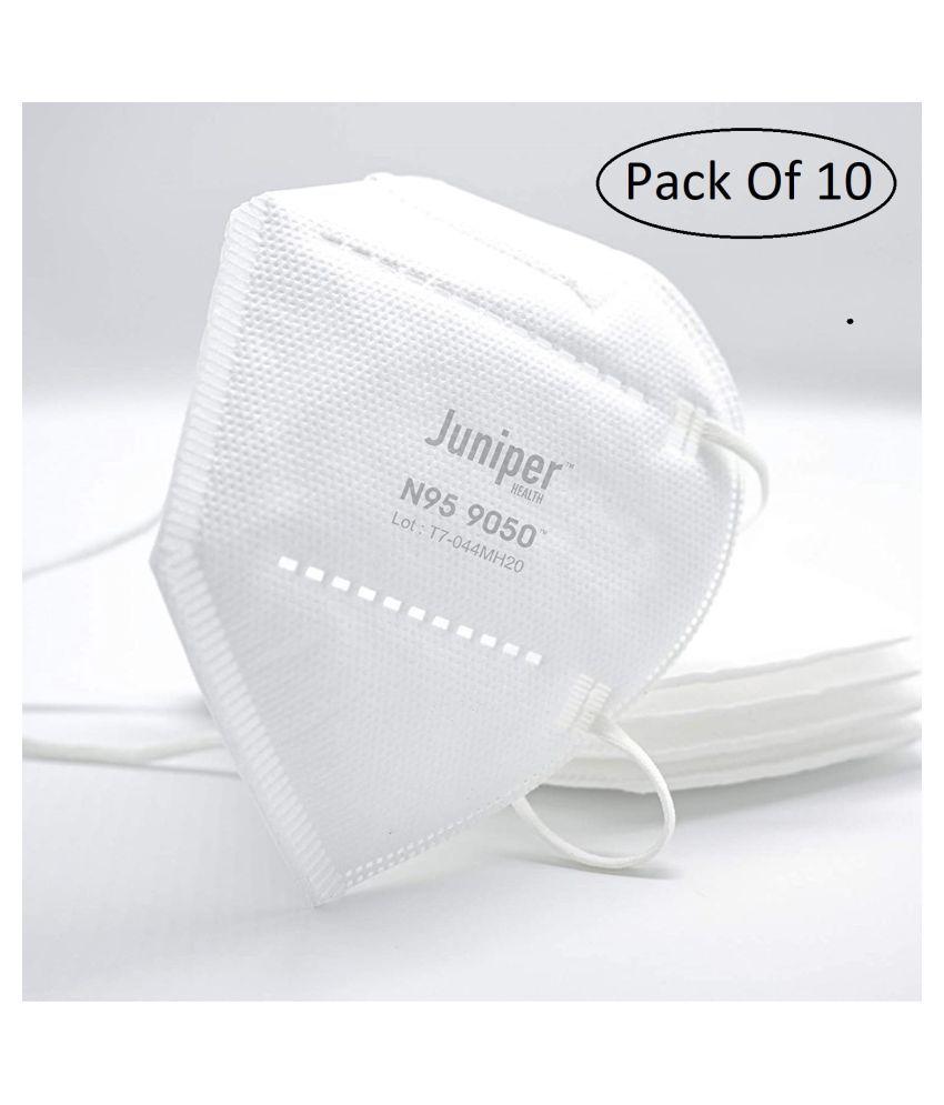 Juniper N95 9050 Respiratory Face Mask Fold-flat Dust Masks
