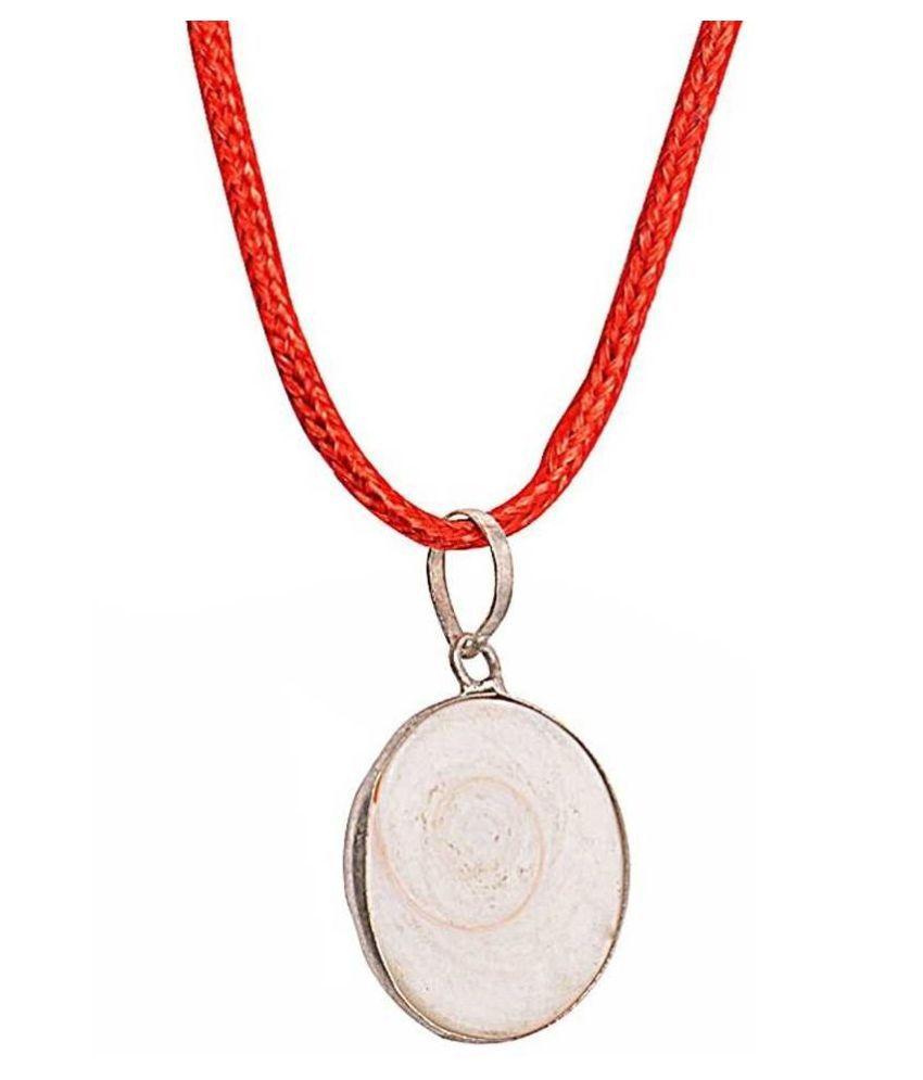 Natural and Precious MOONSTONE Gemstone 11.25 Ratti Certified  silver Pendant By  Ratan Bazaar