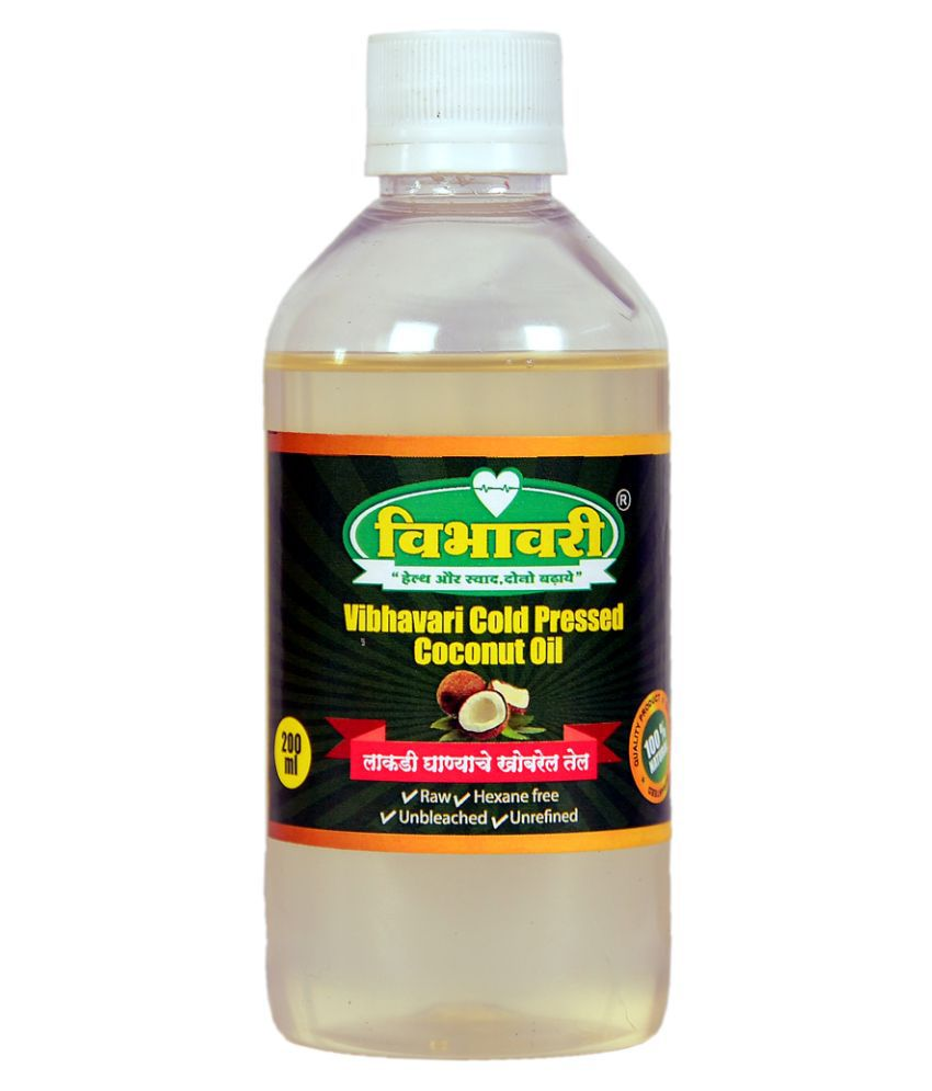 Vibhavari Mustard Oil Cold Pressed 200 mL