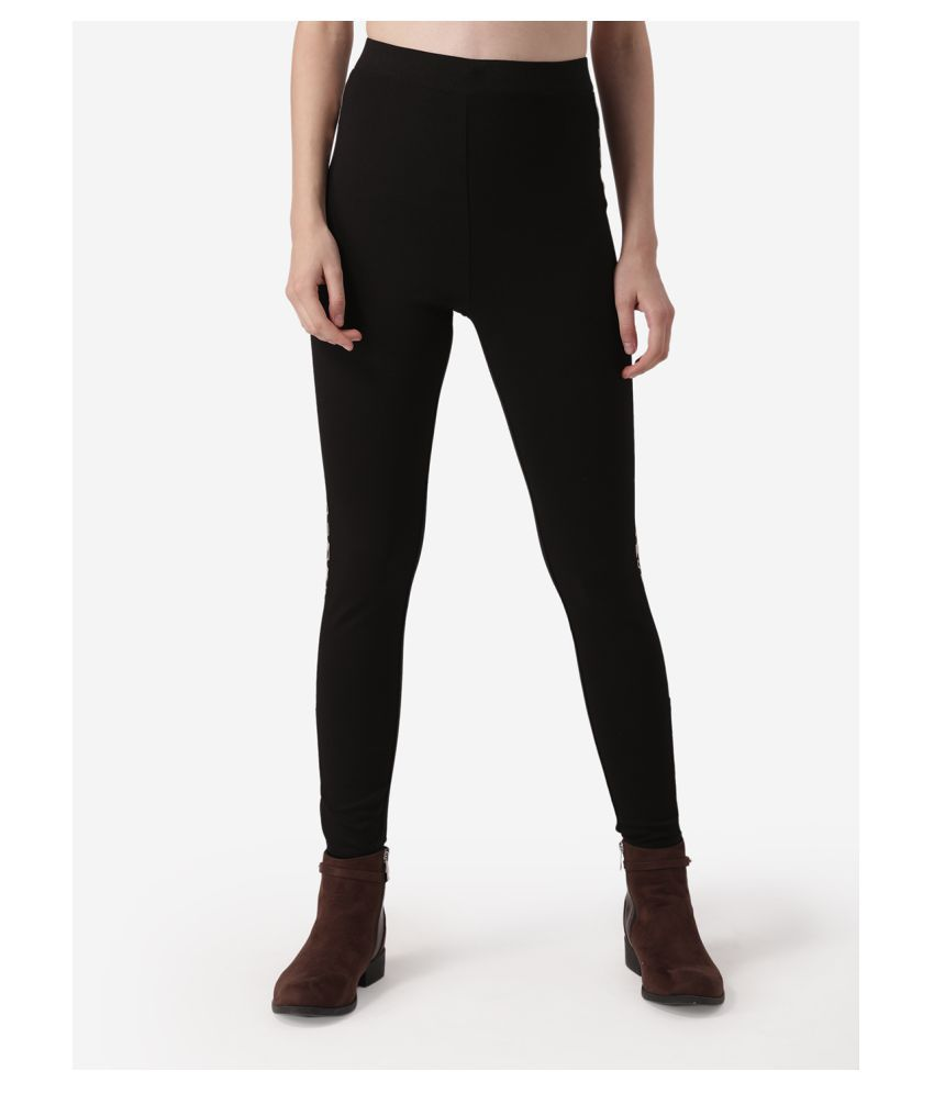 Mode By Red Tape Rayon Jeggings - Black