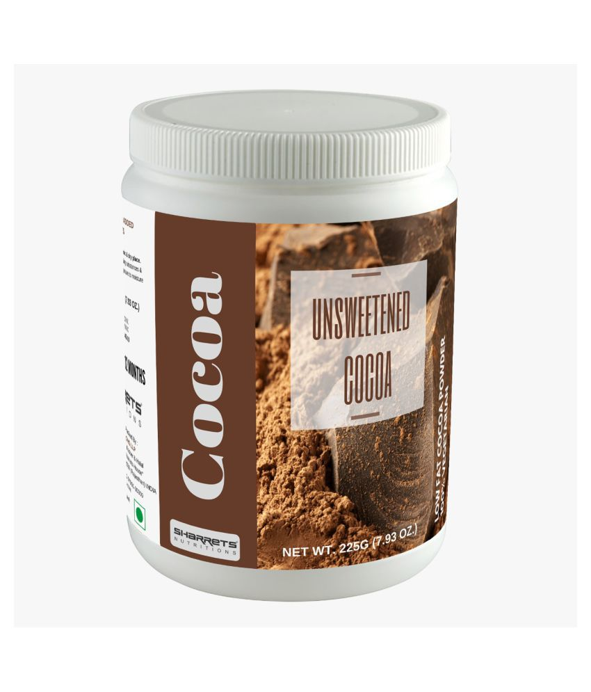 SHARRETS NUTRITIONS Dutch Cocoa Powder 225 g