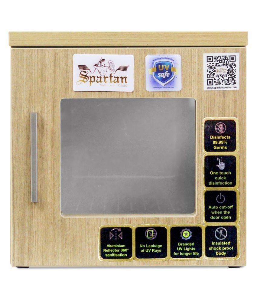 Spartan UV Box Sterilizer (Beige, 15 Ltrs) cm Electronic Beige