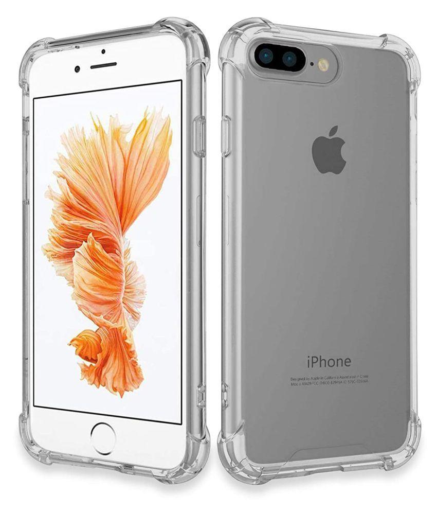 Apple Iphone 7 Plus Shock Proof Case Designer Hub   Transparent Boom Boom Soft Back Cover