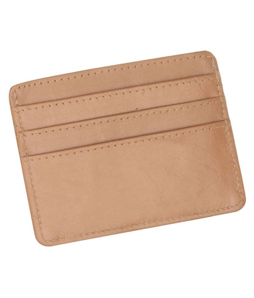 Leather Club Leather Brown Formal Regular Wallet