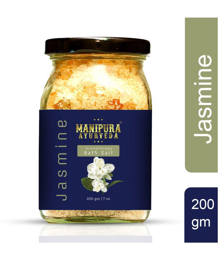 Manipura Ayurveda Jasmine Crystal Bath Salt 200 g