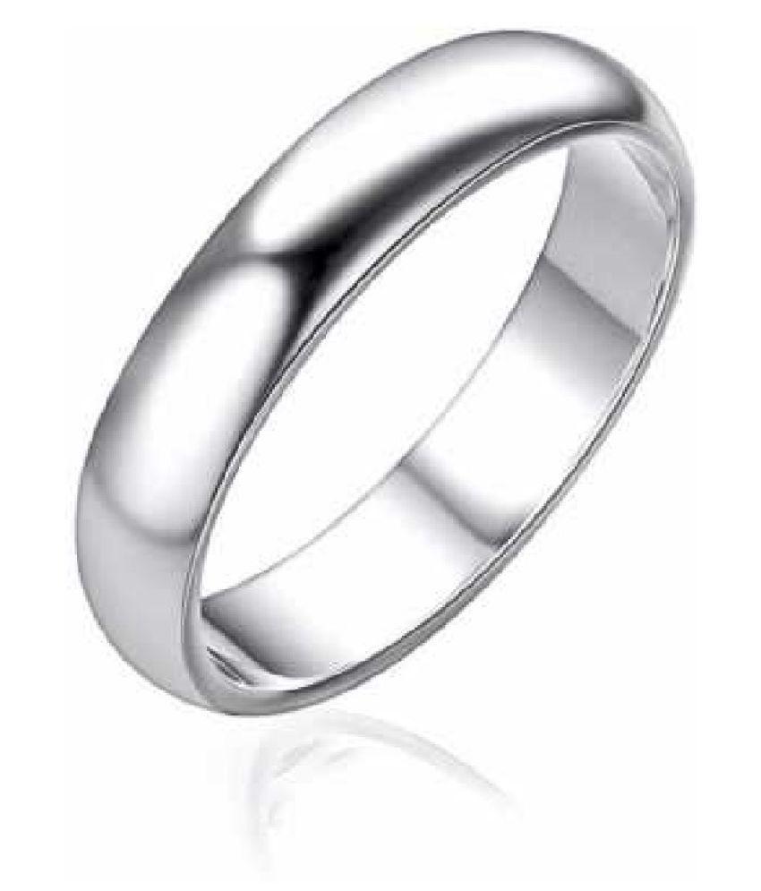 Kundli Gems - Silver challa Ring Natural & Original Silver challa Ring for Unisex