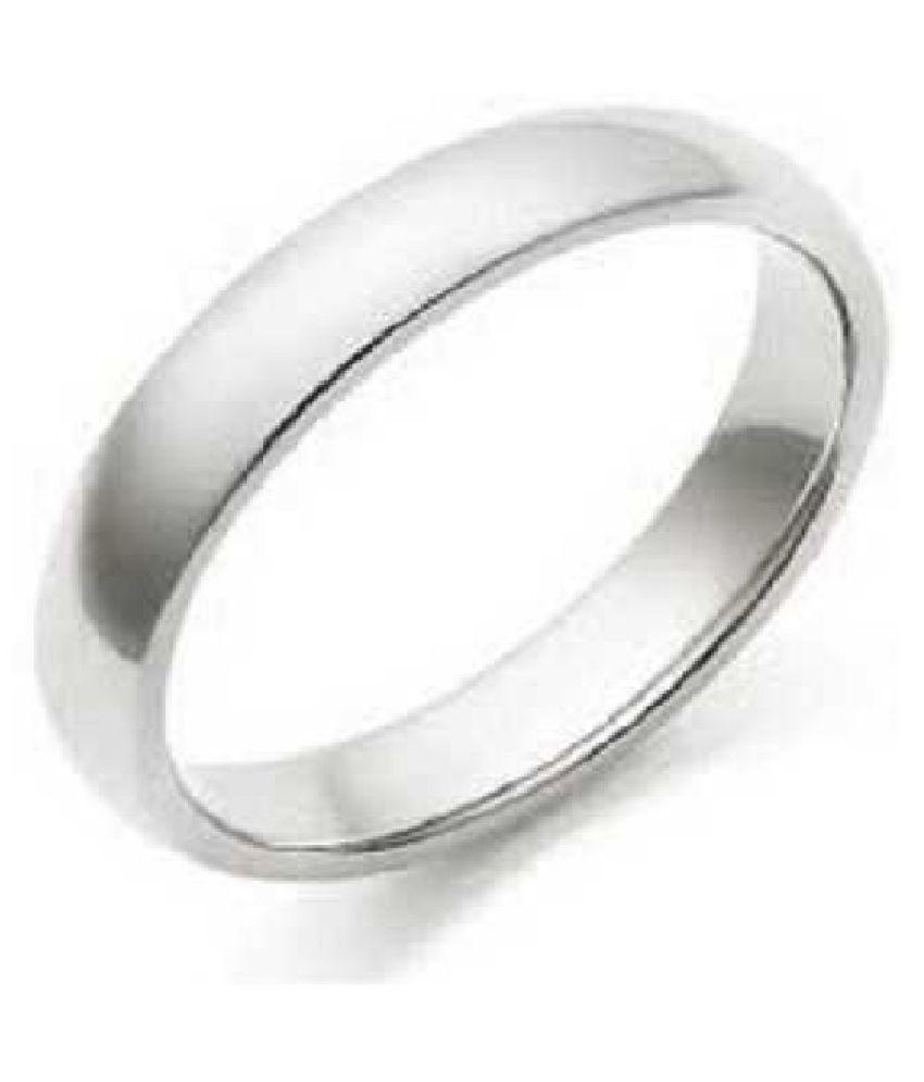 Ratan Bazaar - Silver Challa Ring for Unisex-adult
