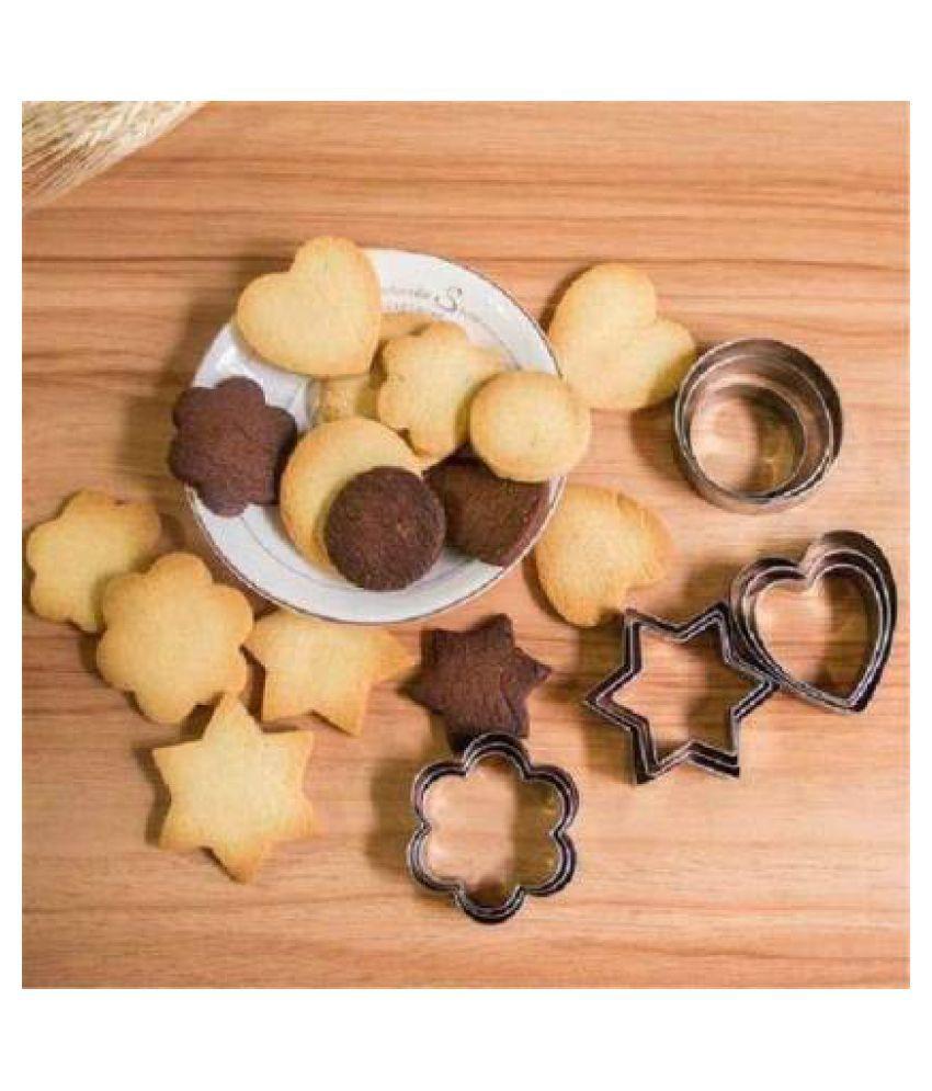 HACKURS Steel Bakery Cutters Heart Shape