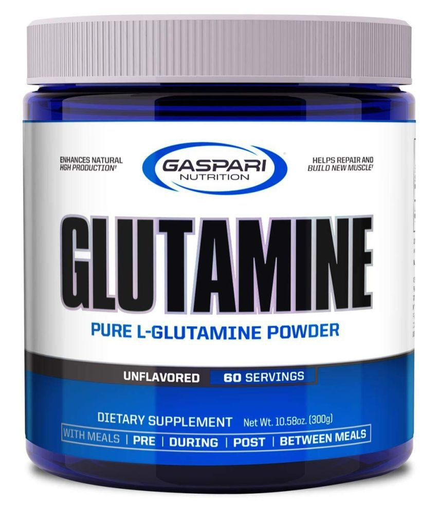 Gaspari Nutrition GLUTAMINE PURE L-GLUTAMINE POWDER 300 gm