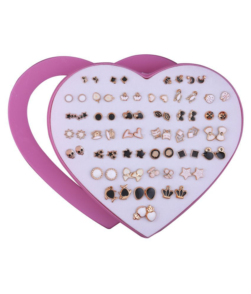 Stud Earring  Delicate look Stud Earring Set of 36  for Women girl