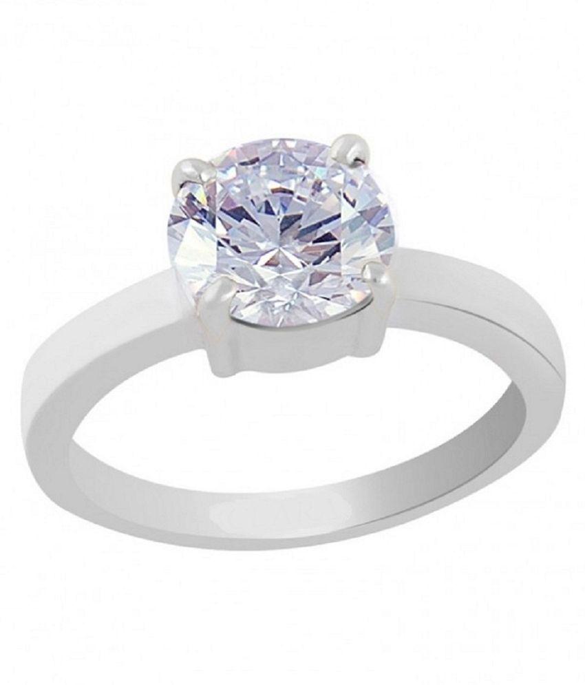 Natural Lab Certified 7 carat  Original ZIRCON  Ring for unisex by RATAN BAZAAR\n