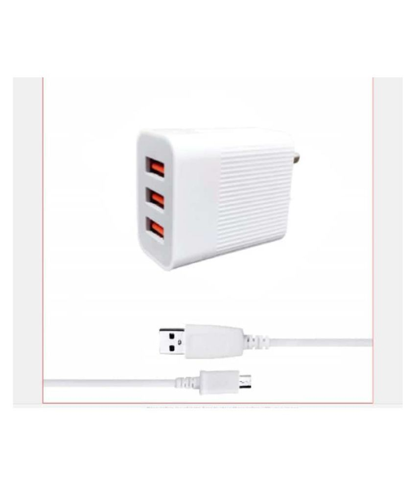 THE OX 3.1A Wall Charger