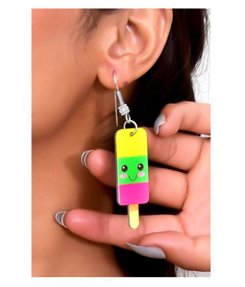 Ice-Cream Popsicle Dangling Earrings
