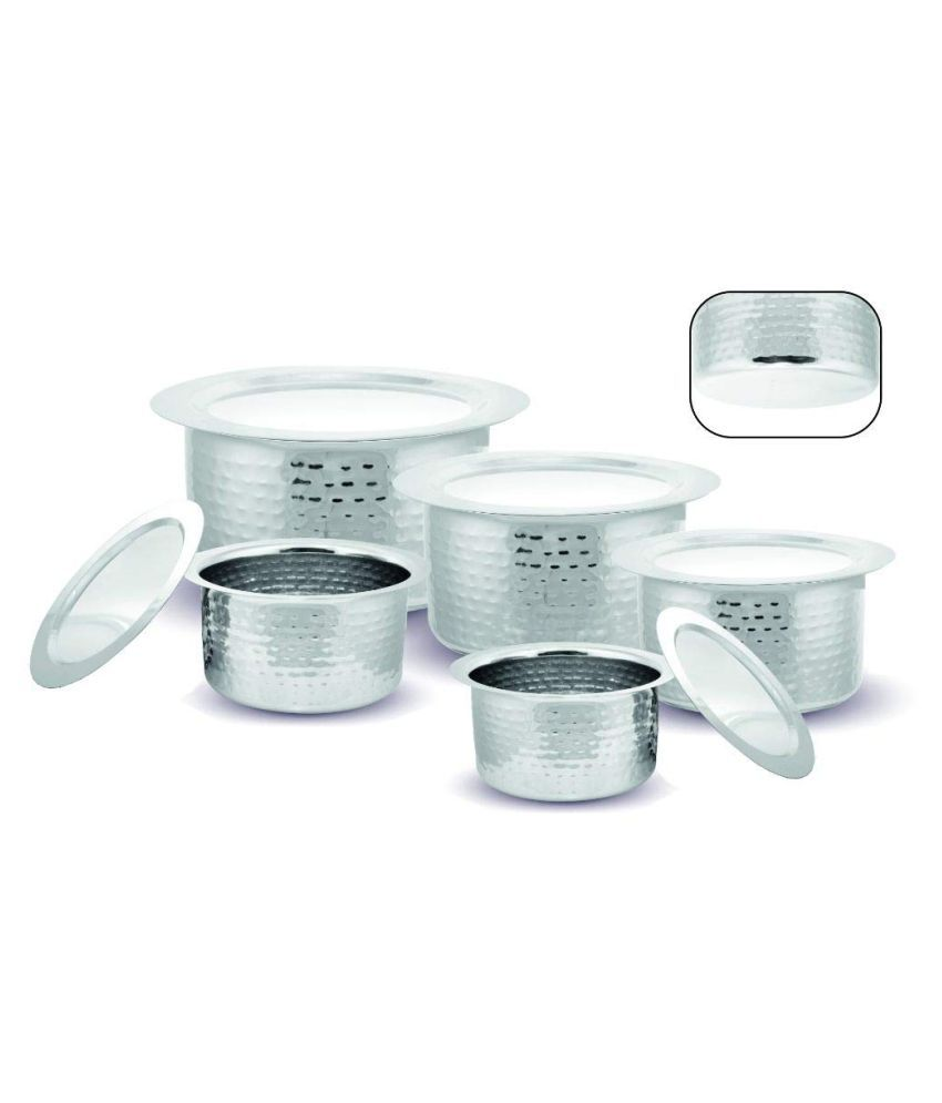 Kloud 9 Tope Set Non-Stick Stainless Steel Tope 17 cm mL