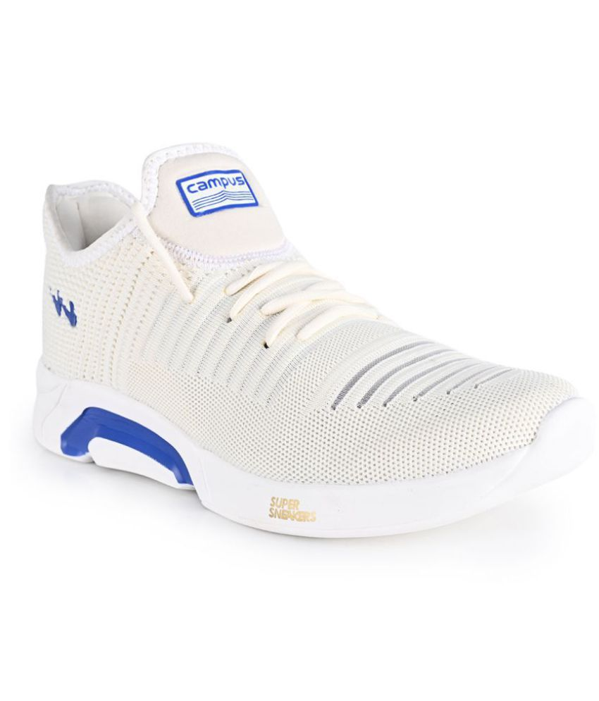 Campus COSTA White Running Shoes