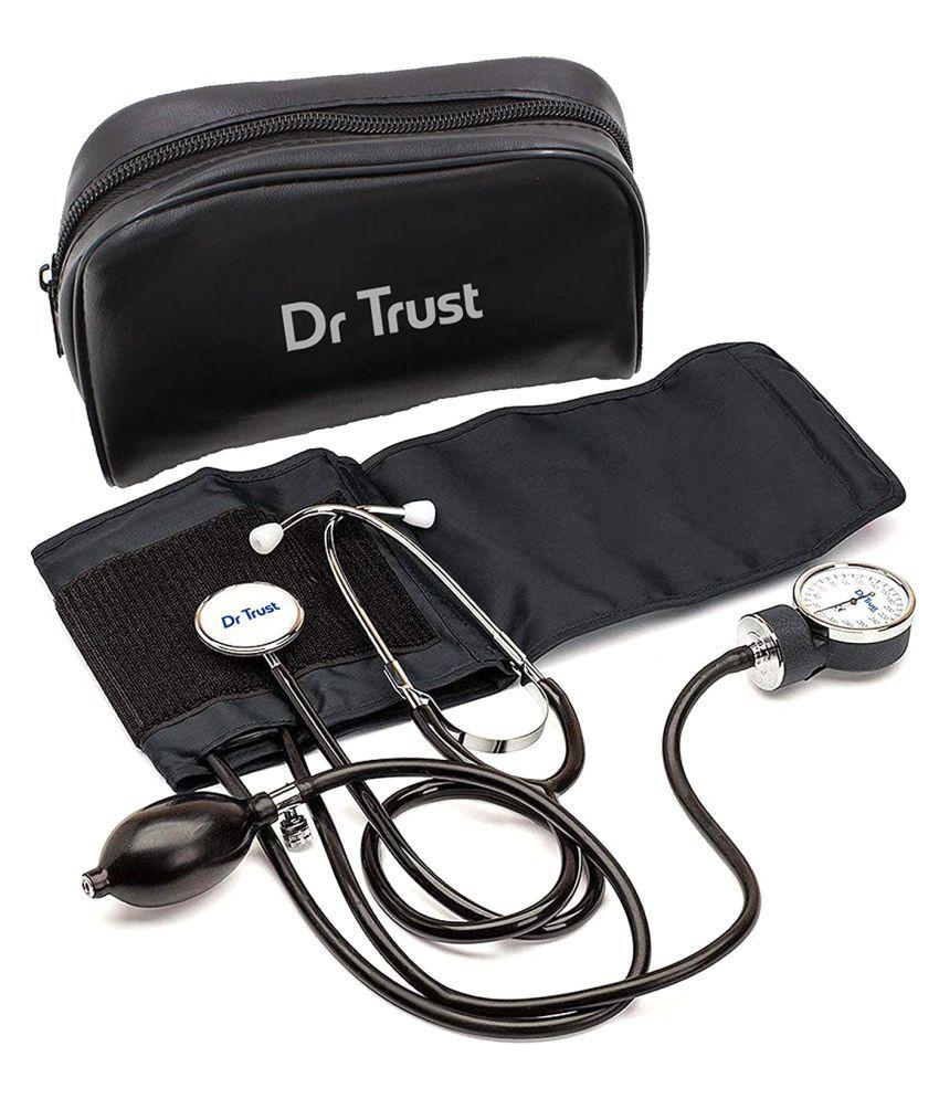 Dr. Trust Sphygmomanometer Manual BP Machine Stethoscope