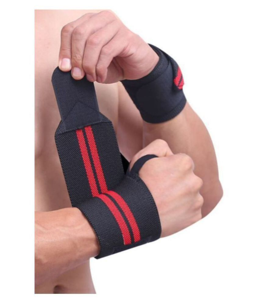 AJRO DEAL WRIST BAND WITH THUMB SUPPORT 1 PAIR