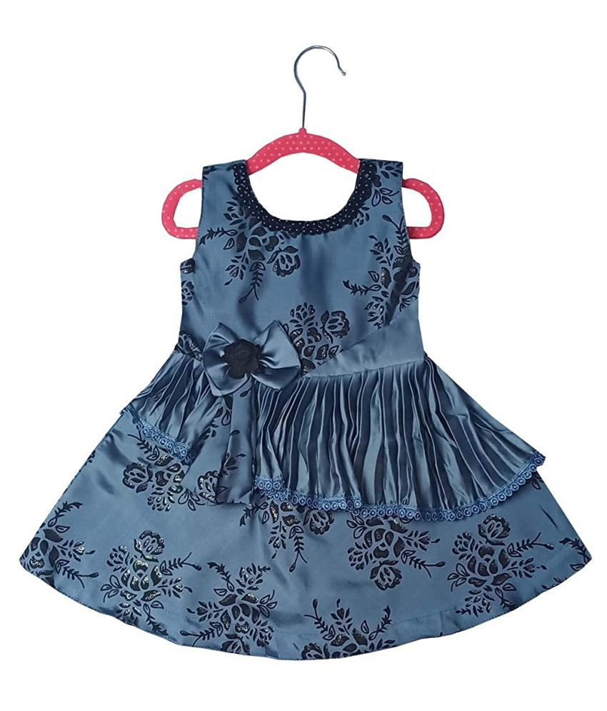 ALL ABOUT PINKS® Baby Party Wear Dresses for Girl Baby Girl Frocks