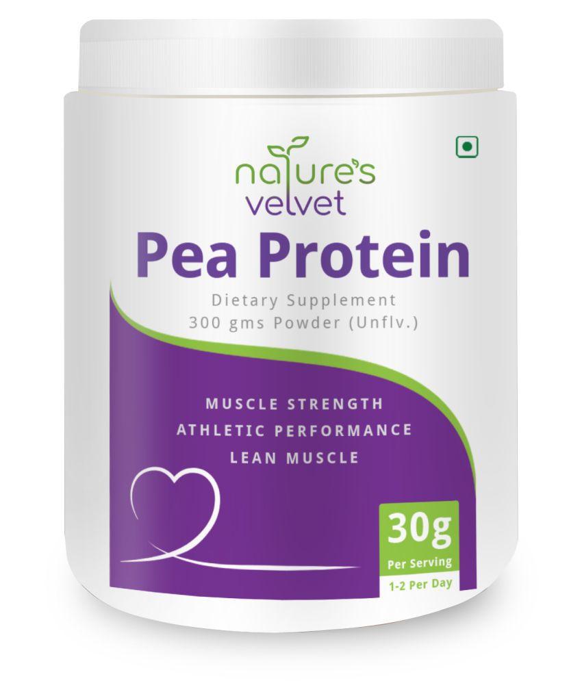 Natures Velvet Pea Protein Isolate 300 gm