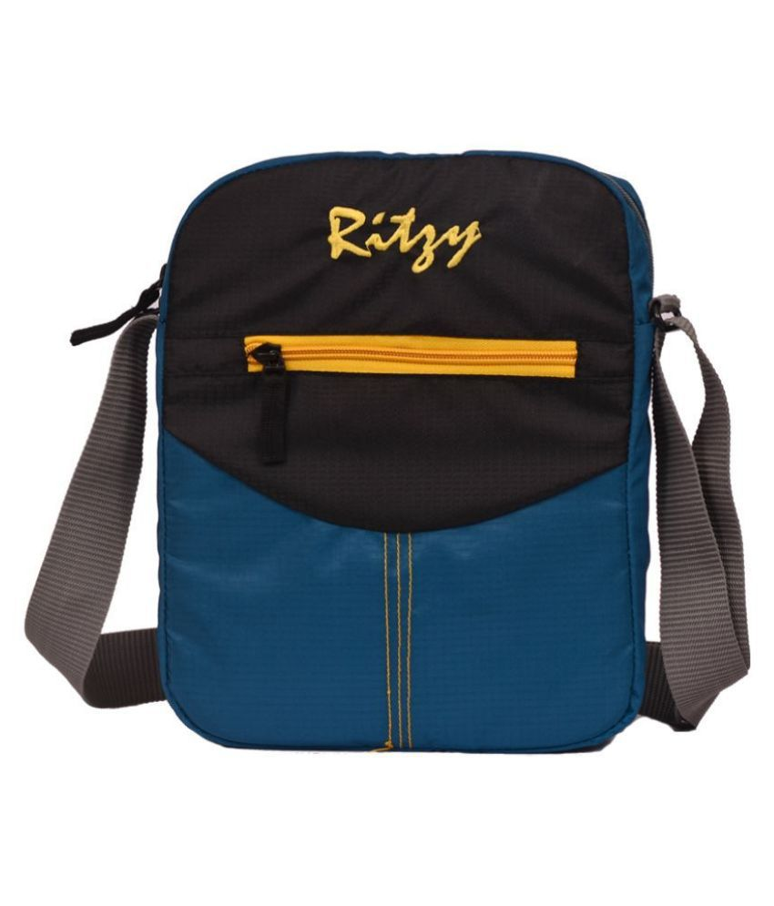 Ritzy Multi Color Polyester Casual Messenger Bag
