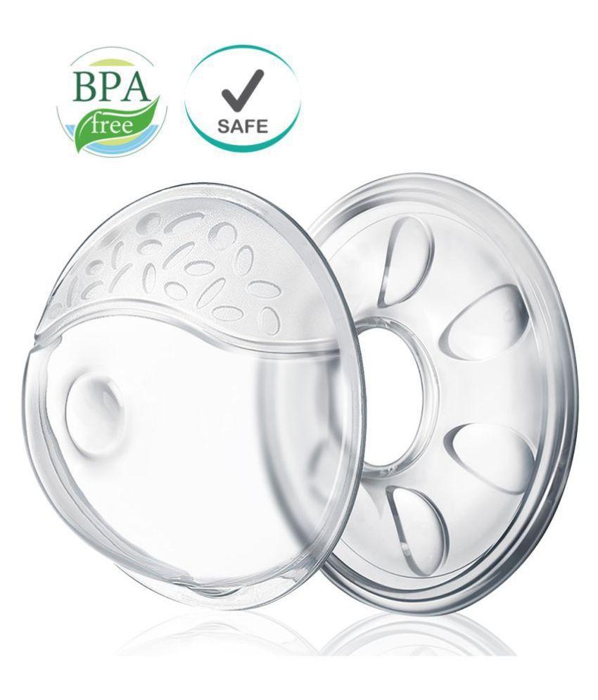 Buddsbuddy Premium Comfort Nursing Breast Shell 2pcs BB7068,White