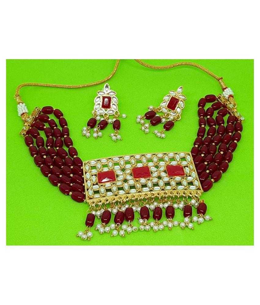 Designer choker jewellery Set