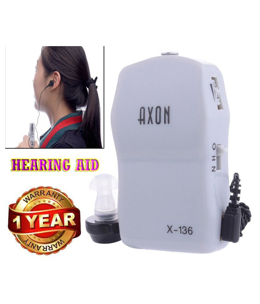 IND  AXON X-136 Pocket Best Sound Amplifier High Power Ear Care tool Sound Amplifier Ear Care tool