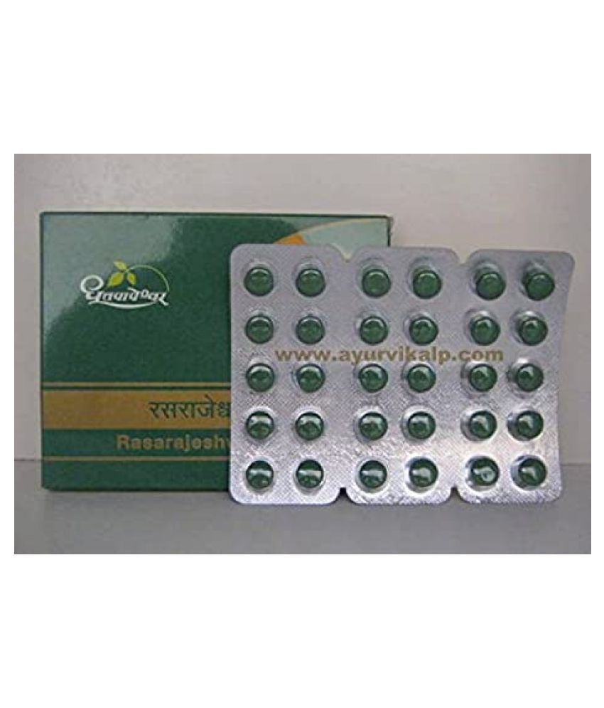 Dhootpapeshwar RASARAJESHWAR RASA Tablet 30 no.s Pack Of 1