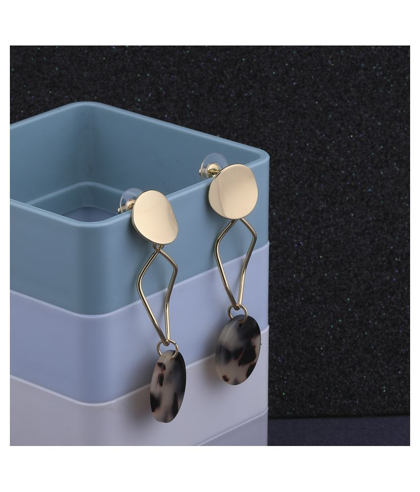 Exclusive Gold Plated Charm Party Wear Dangle Earring For Women Girl