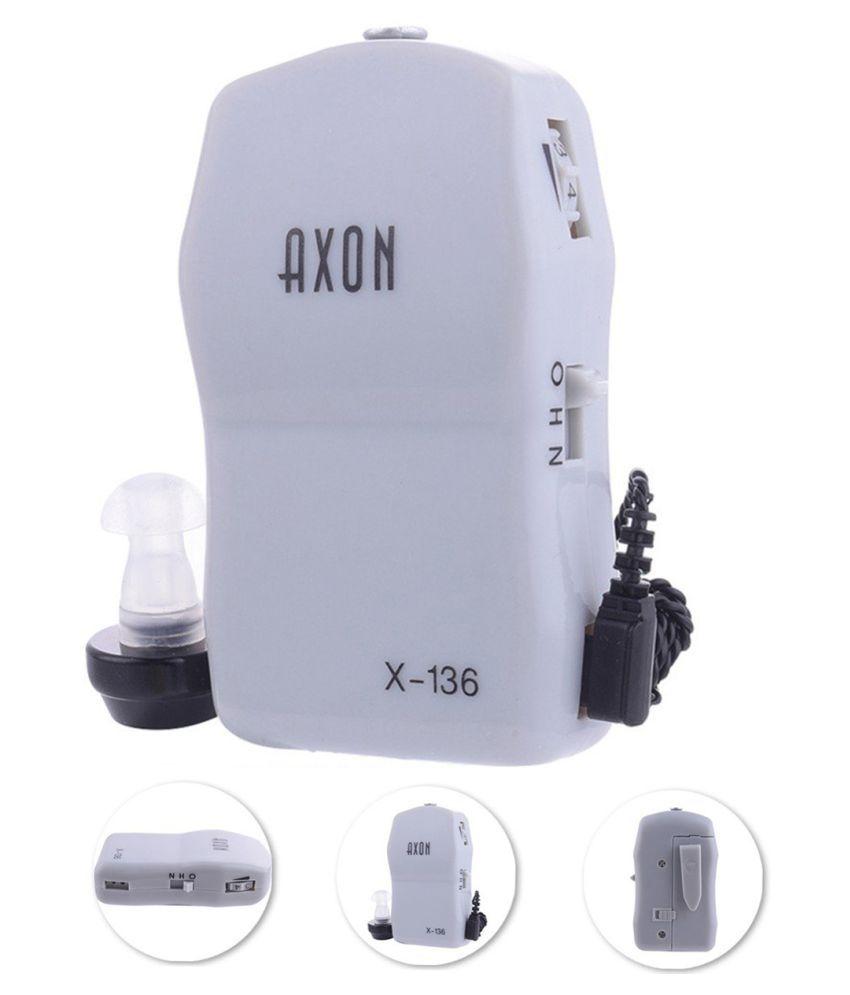 PMK AXON X-136 Pocket High Power Wired Box Mini Hearing Aid Ear Care tool Noise Filter hearing aid
