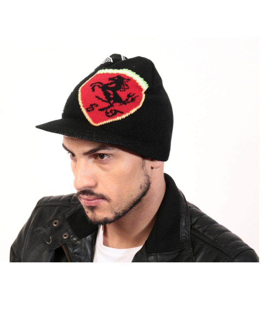 Sane Moda Black Acrylic Caps