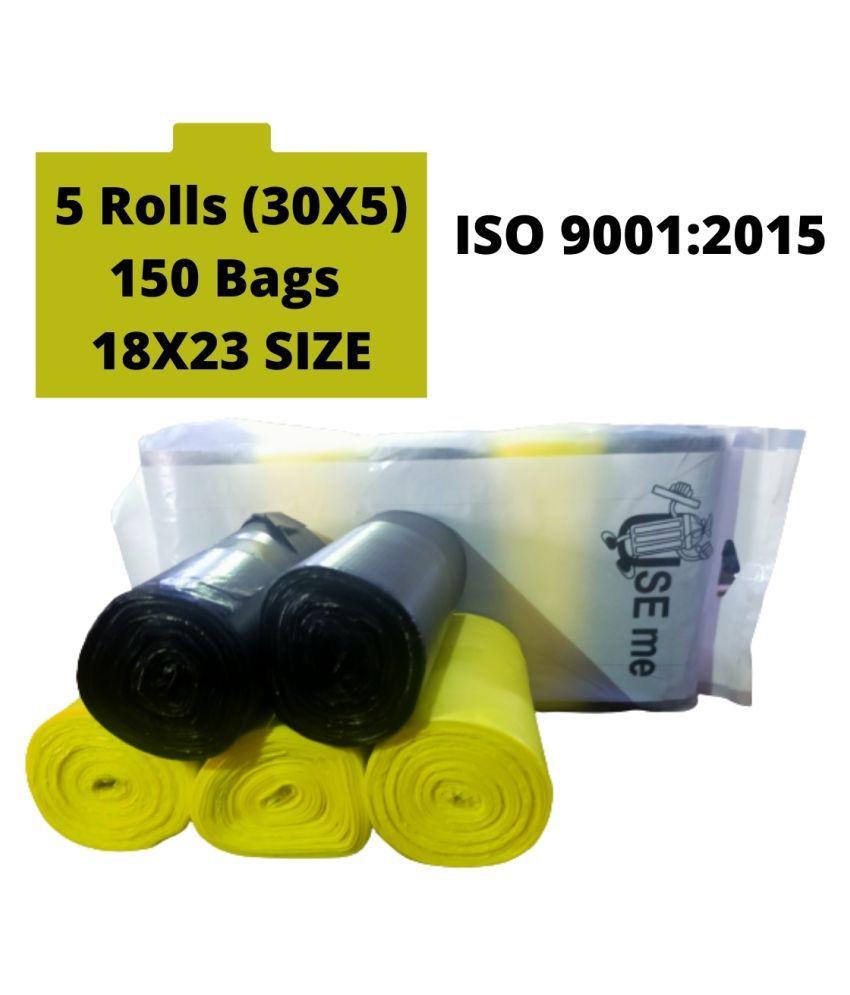 Garbage Bags Medium Size 18*23 (150 Bags )