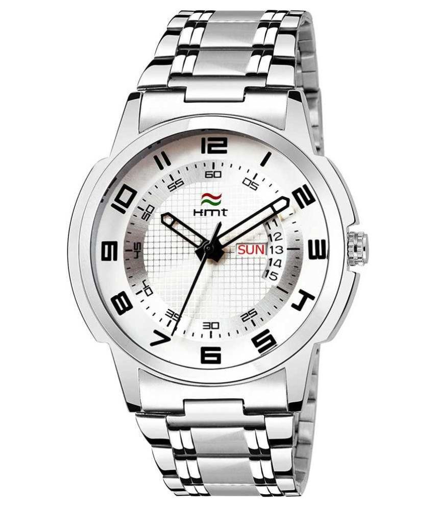 Hemt HM-GR902-WHT-CH Stainless Steel Analog Men's Watch