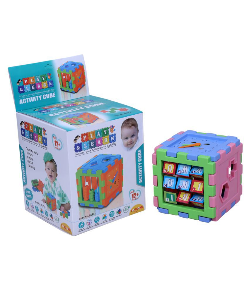 PLAY AND LEARN  12 PCS