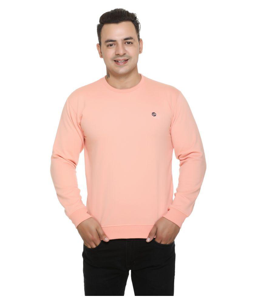 TOPLUCK Peach Sweatshirt