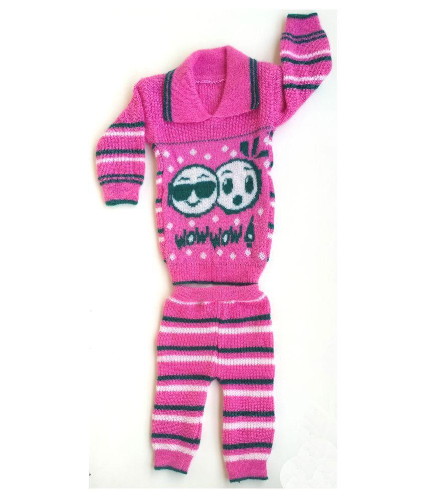 Sweater-Payjama Set_Pink
