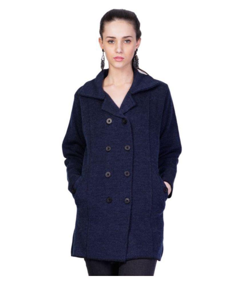 MONTREX Acro Wool Blue Over coats