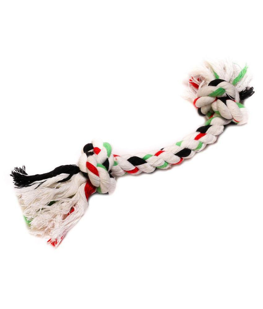 Poochles Dual Knot Rope Toy