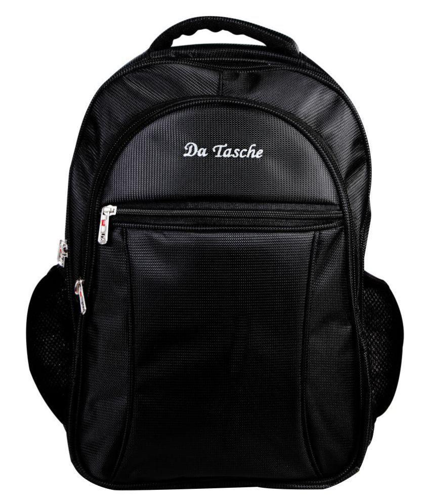 Da Tasche Black Backpack