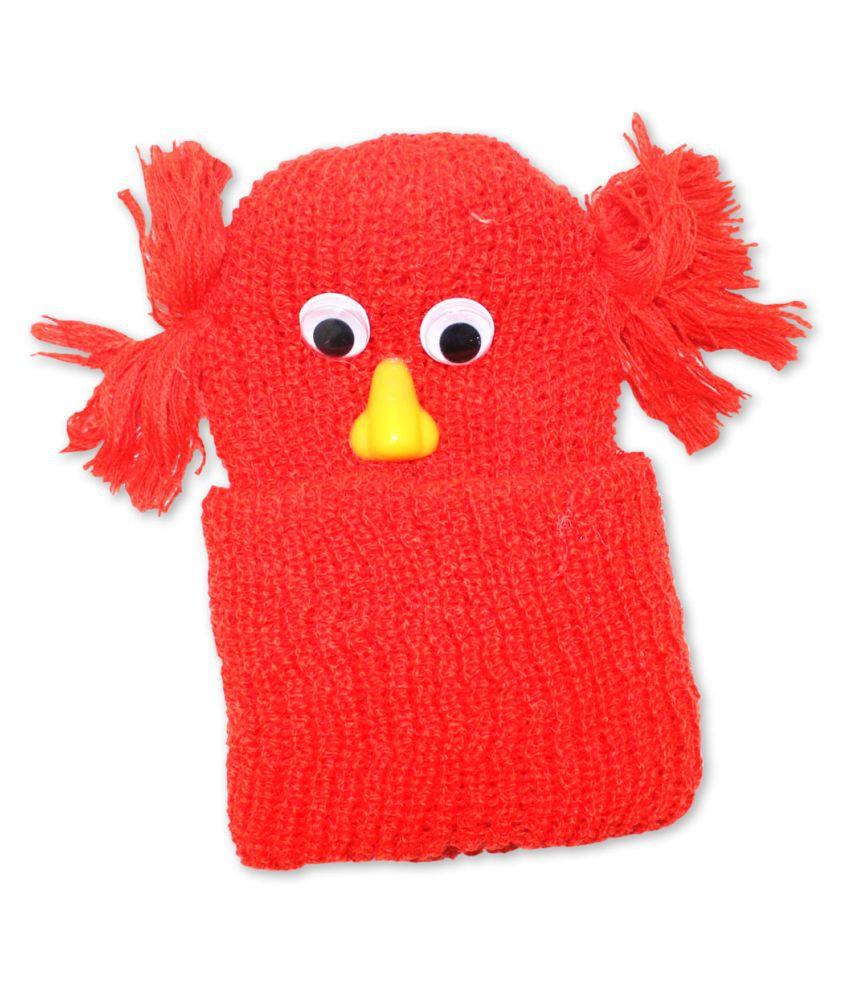 Little kids® Comfortable Woolen Cap & Hats for Baby Girls/Baby Boy/Kids Born