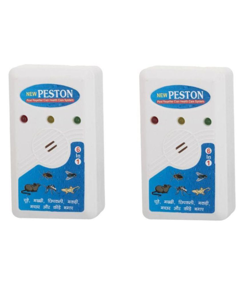 New 6 in 1 P-ston Insect & Pest Killer cum Electric Health Care System ( Set of 2 )