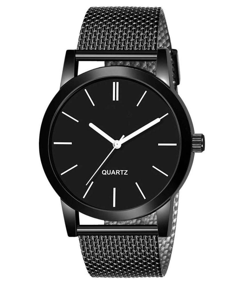 EMPERO All Black Silicon Analog Men's Watch