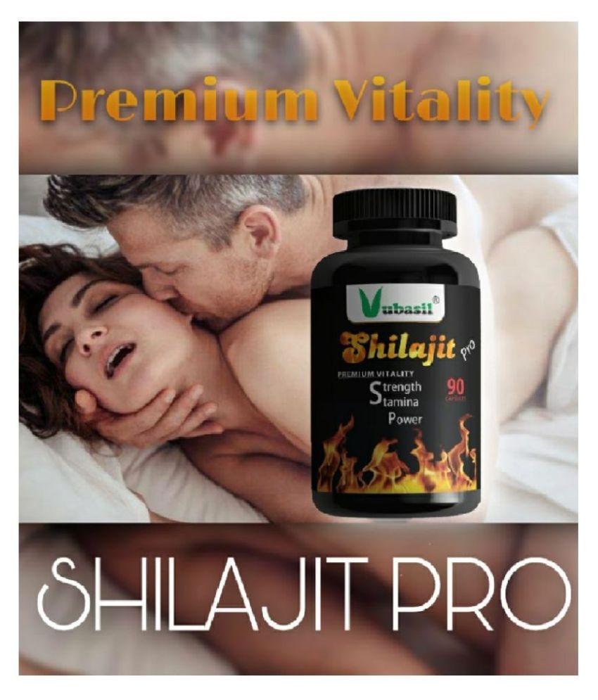 VUBASIL Shilajit PRO (90 Capsules) 100% Natural & Safe Shilajeet Gold Extract 800 mg Minerals Capsule