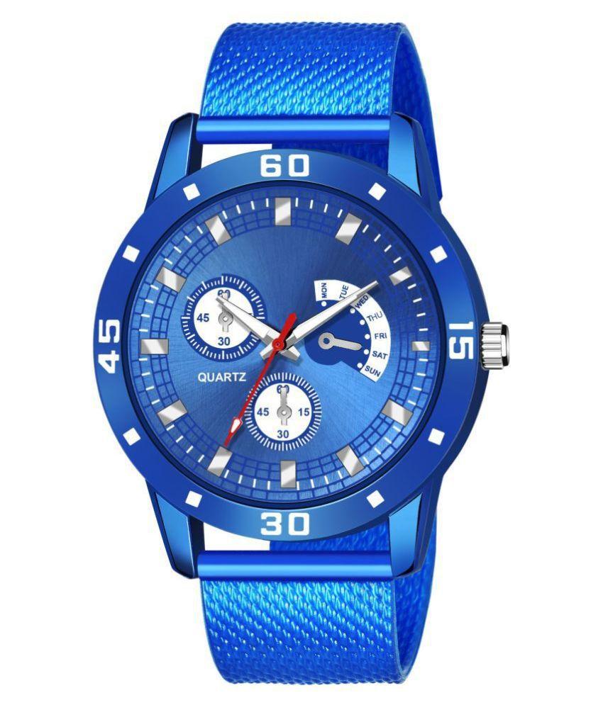 AMINO KJR_534 PU Analog Men's Watch