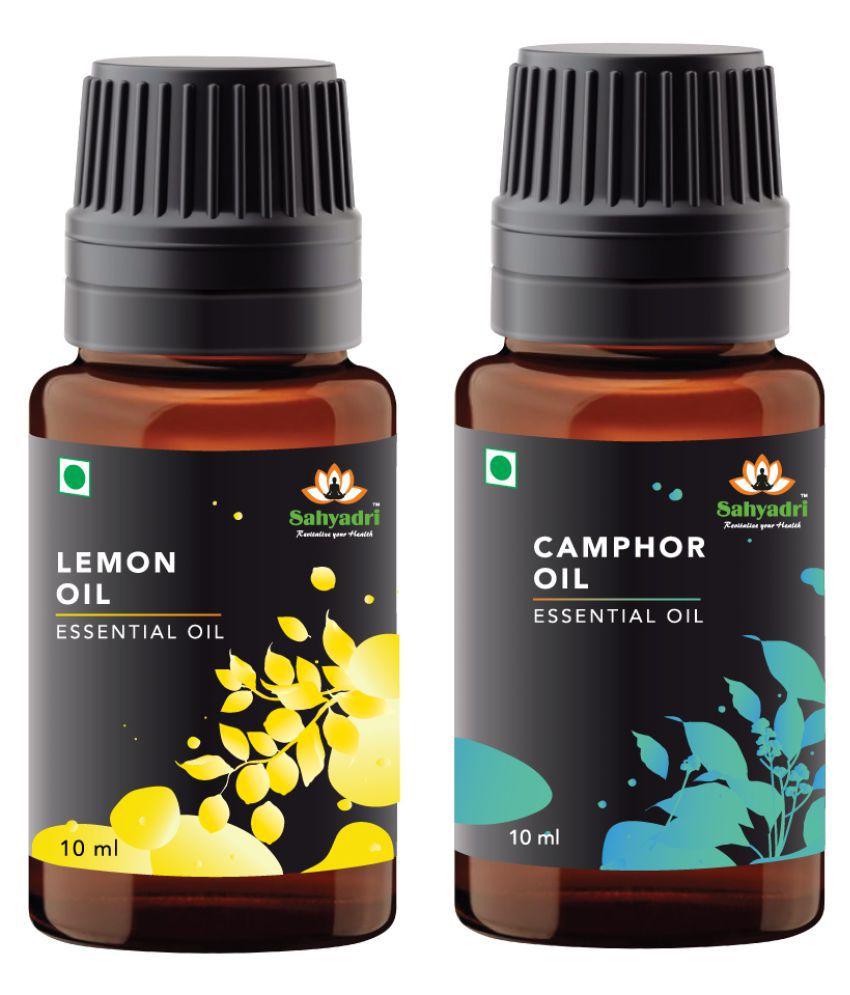 Sahyadri Lemon and Camphor Essential Oil 20 mL