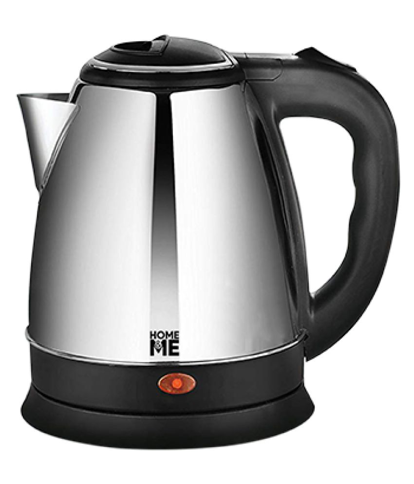 Home&Me 2 Liter 1500 Watt Stainless Steel Electric Kettle